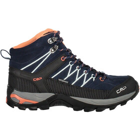 CMP Campagnolo Rigel Mid WP Trekking Shoes Dame black blue-giada-peach